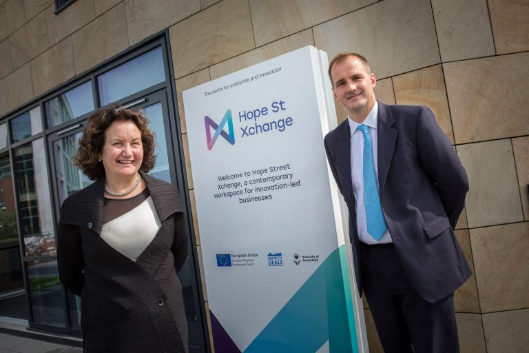 Northern Powerhouse Minister visits Hope Street Xchange