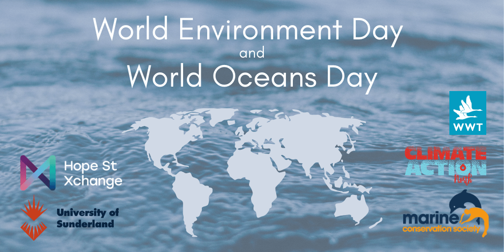 Help our planet this World Environment and World Oceans Day